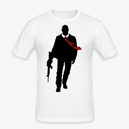 PREMIUM SO GEEEK HERO - MINIMALIST DESIGN - T-shirt près du corps Homme