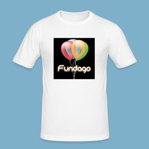 Fundago Ballon - Männer Slim Fit T-Shirt