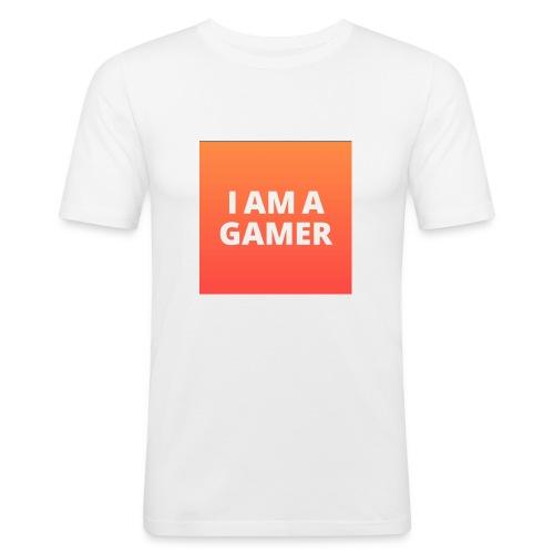 I AM A GAMER FASHION ACCESORIES - Men's Slim Fit T-Shirt