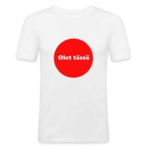 olet - Miesten tyköistuva t-paita