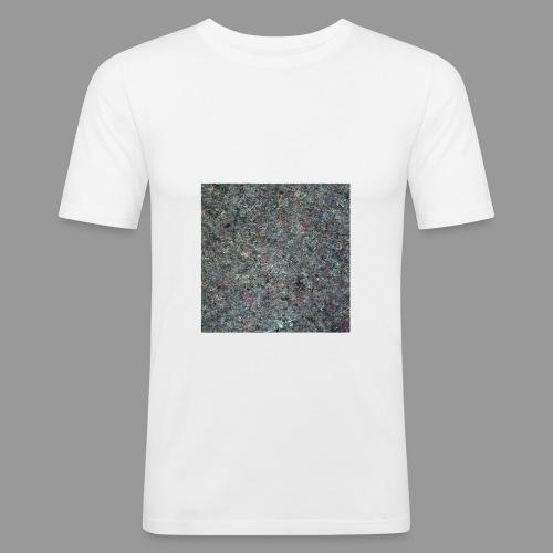 MATERIAL GRAUBUNT_Shirt_q - Männer Slim Fit T-Shirt