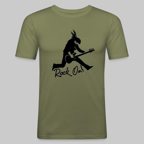 Rock On Nr. 2 - Männer Slim Fit T-Shirt