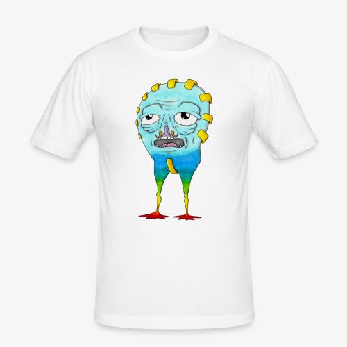 Ubru - T-shirt près du corps Homme