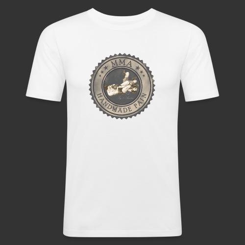MMA Retro - Männer Slim Fit T-Shirt