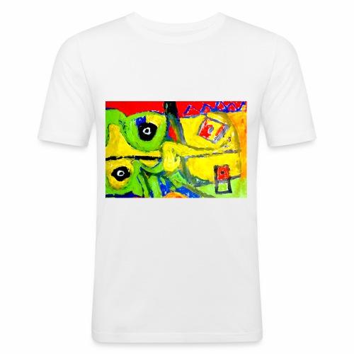 Art1 - Maglietta aderente da uomo