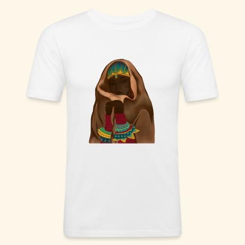 Femme bijou voile - T-shirt près du corps Homme