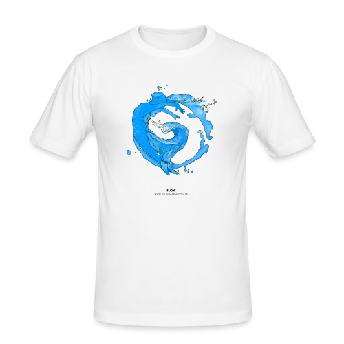 FLOW - Mannen slim fit T-shirt