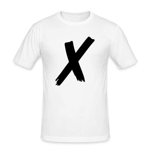 x - Slim Fit T-shirt herr