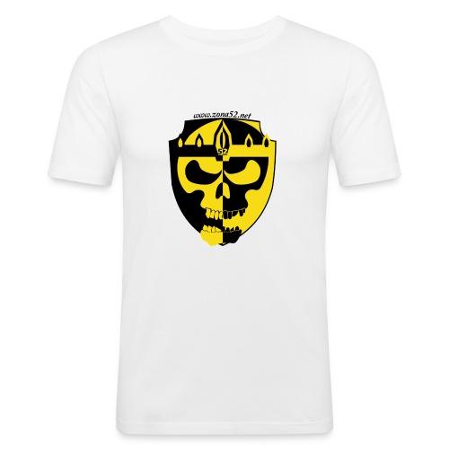 Logo clan zona 52 - Camiseta ajustada hombre