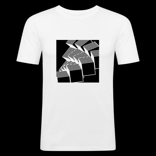 Squares - Maglietta aderente da uomo