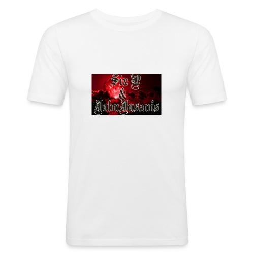 Six P & John Insanis T-Paita - Miesten tyköistuva t-paita