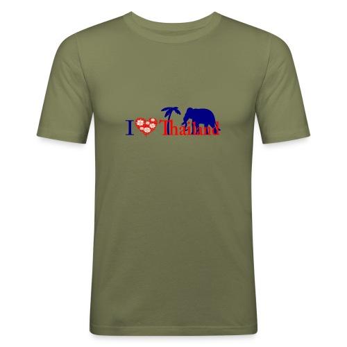 I love Thailand - Men's Slim Fit T-Shirt