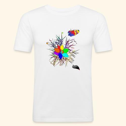 equal love - Männer Slim Fit T-Shirt