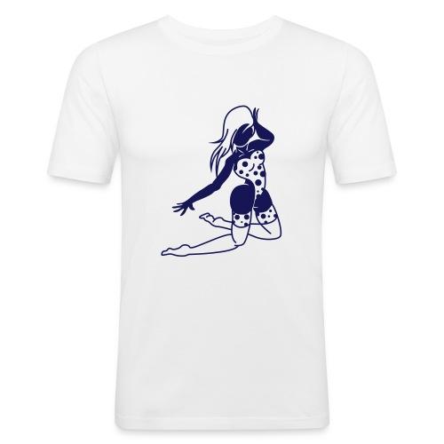 Rock Girl T-shirt - Slim Fit T-shirt herr