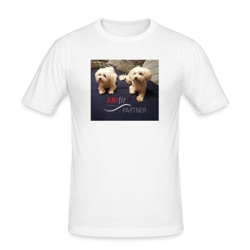 happy lucy anifit partner - Männer Slim Fit T-Shirt