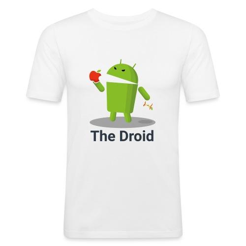The Droid Spille - Maglietta aderente da uomo