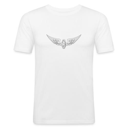 WINGZ shirt male - Mannen slim fit T-shirt