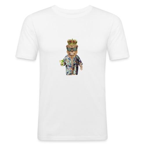 Urlaubslöwe - Männer Slim Fit T-Shirt