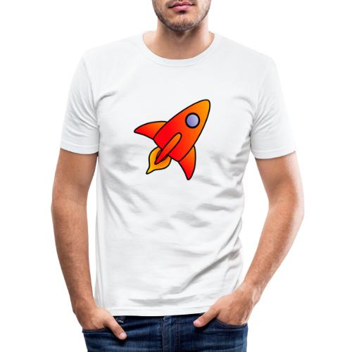 Red Rocket - Men's Slim Fit T-Shirt