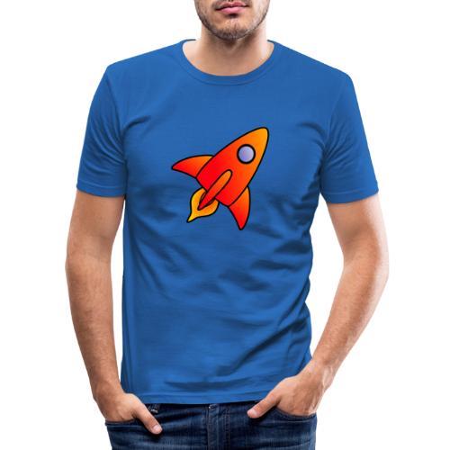 Red Rocket - Men's Slim Fit T-Shirt