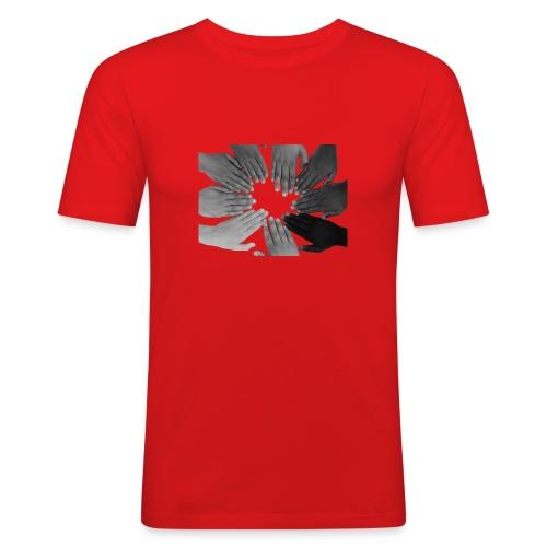Ein Zeichen setzen - Männer Slim Fit T-Shirt