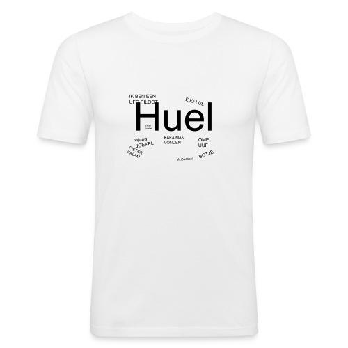 HUEL - Mannen slim fit T-shirt