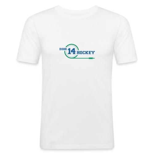 D14 HOCKEY LOGO - Men's Slim Fit T-Shirt