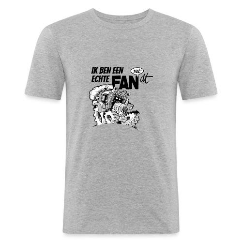 0922 Ik ben een FAN met DT - Mannen slim fit T-shirt
