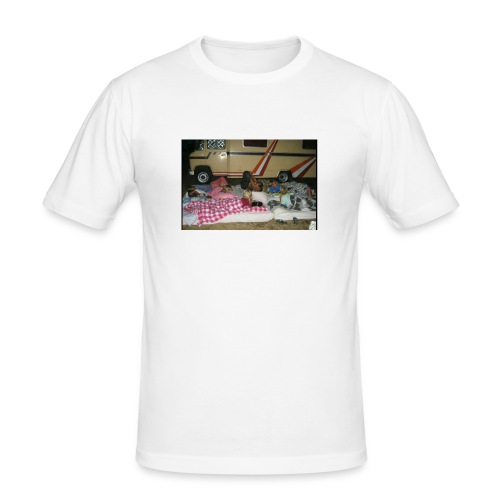 hoiikben - Mannen slim fit T-shirt