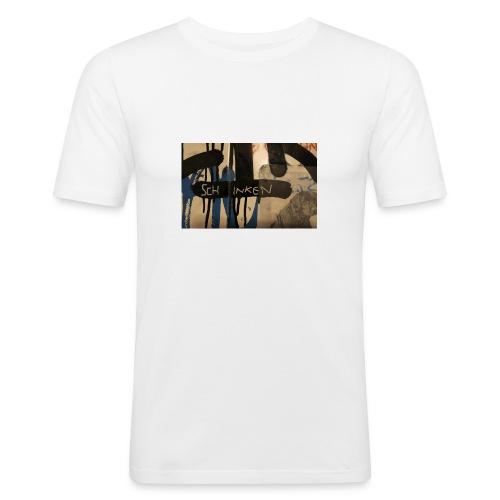 Schinken - Männer Slim Fit T-Shirt