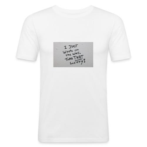 Nimm das! - Männer Slim Fit T-Shirt