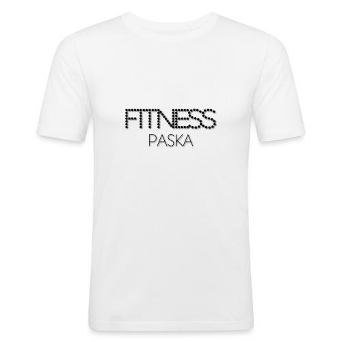 FITNESS PASKA - Miesten tyköistuva t-paita