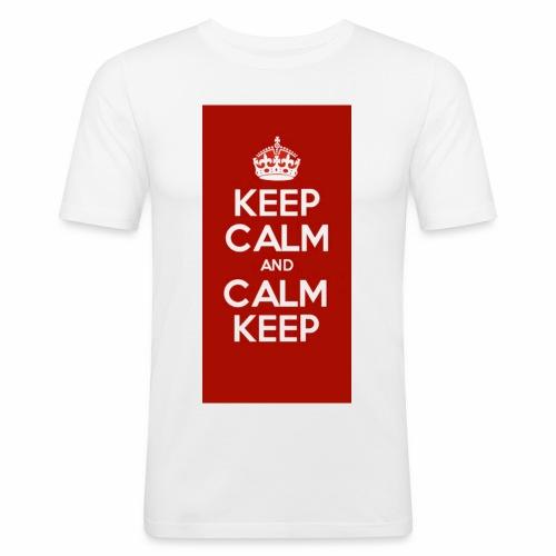 Keep Calm Original Shirt - Men's Slim Fit T-Shirt