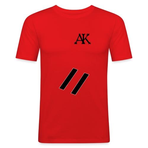 design tee - Mannen slim fit T-shirt