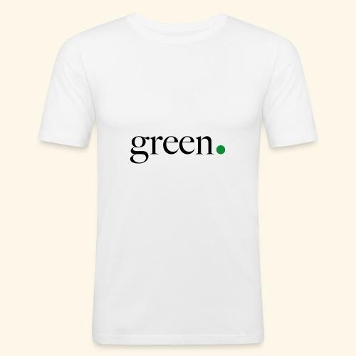 Green - T-shirt près du corps Homme