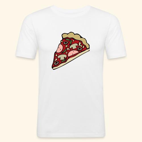 Pizza - T-shirt près du corps Homme