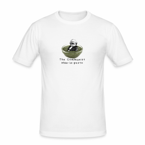 Man-in-pesto - Men's Slim Fit T-Shirt