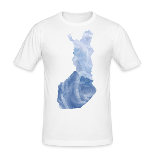 Suomi Finland - Miesten tyköistuva t-paita
