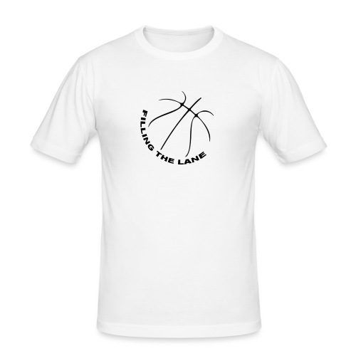 FillingTheLane.com Original T-Shirt - Mannen slim fit T-shirt