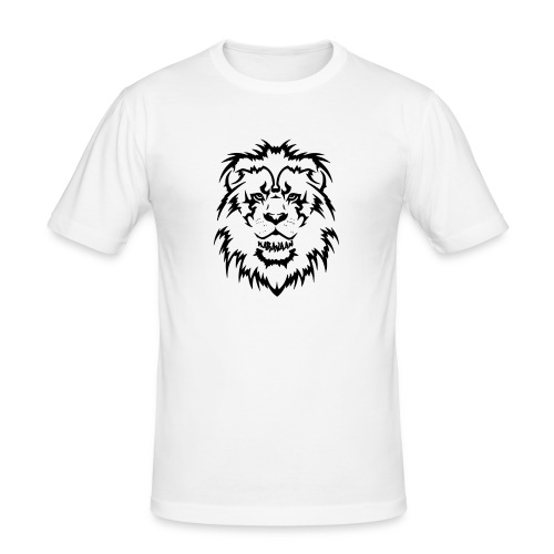 Karavaan Lion Black - slim fit T-shirt