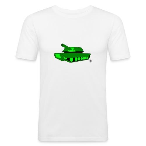 GREEN TANK png - Men's Slim Fit T-Shirt