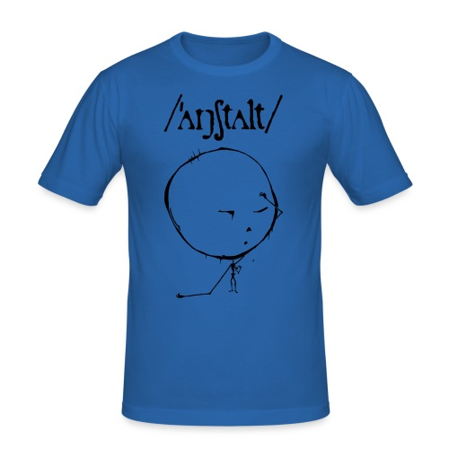 logo mit kreisling - Männer Slim Fit T-Shirt