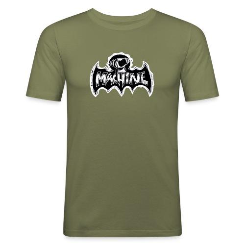 Machine Boy in Bat Land - Men's Slim Fit T-Shirt