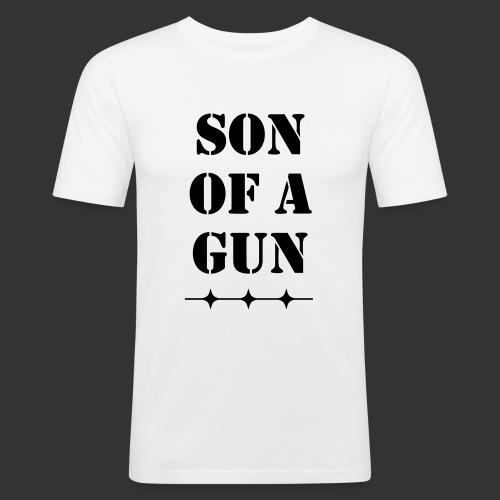 Son of a gun - Männer Slim Fit T-Shirt