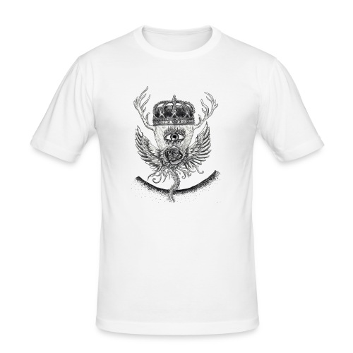 iSeeYou - Slim Fit T-shirt herr