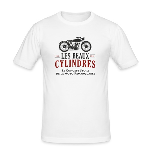 LBC-Baseline-2 lignes - T-shirt près du corps Homme