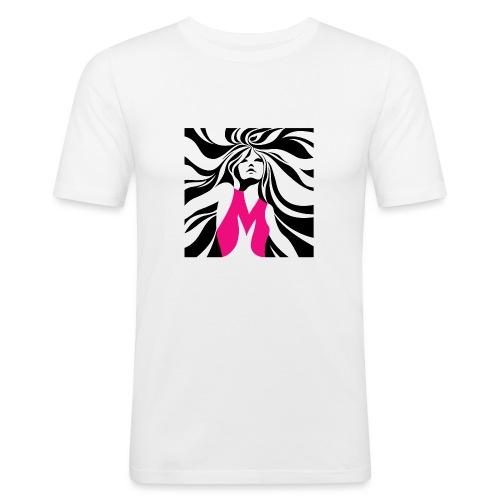 Mélographie - T-shirt près du corps Homme