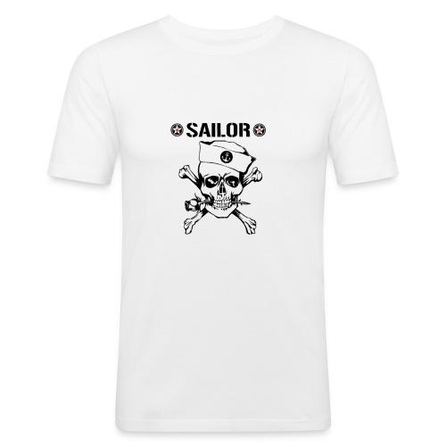 Sailor1975 - Männer Slim Fit T-Shirt