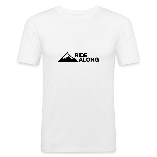 ridealonglogo-png - Mannen slim fit T-shirt