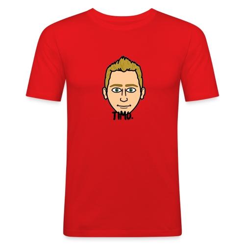 LOGO VAN TIMO. - Mannen slim fit T-shirt